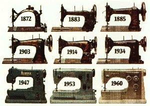 Machines coudre d 39 hier et d 39 aujourd 39 hui husqvarna - Comptoir phoceen de la machine a coudre ...